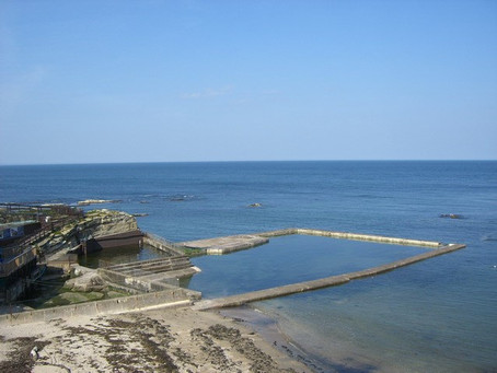 Swimming History Picture of the Week: St Andrews Tidal Swimming Pool