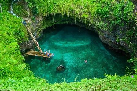 To Sua, Lotofaga village, Samoa