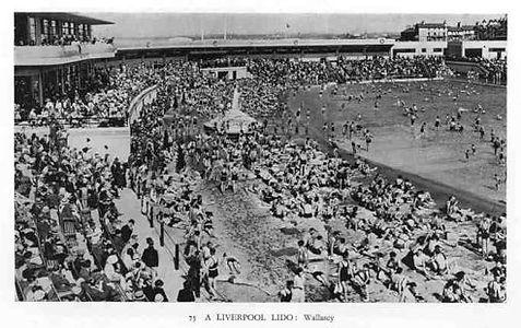Lido Wallasey Lancashire Swimming History