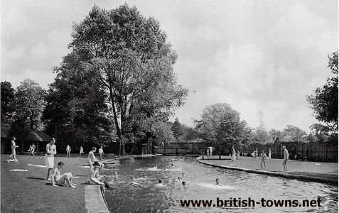 Gunners Hole Winchester Swimming History