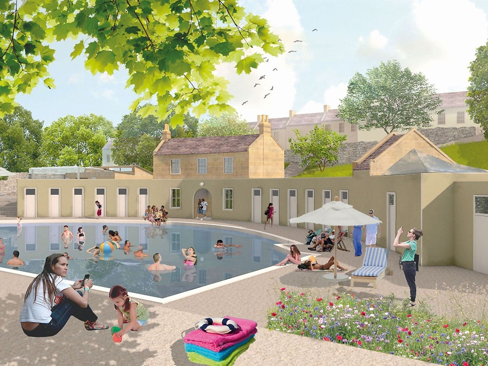 Cleveland Pools in Bath restoration