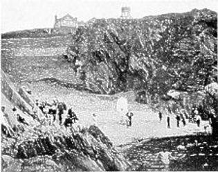 Port Jack Bathing Cove Isle of Man