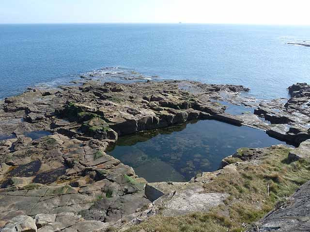 Swimming pool, Table Rocks – Whitley Bay