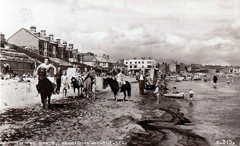 NEWBIGGIN Beach Swimming History