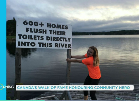 Teenager Cleans up River for her Brother