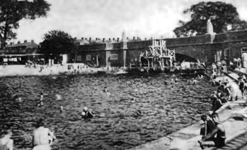 Colchester River Swimming Baths History
