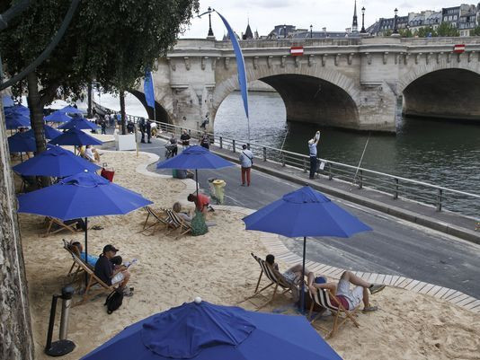 Would you use a beach on the White River?