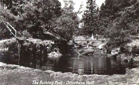 Otterburn Hall  Bathing Pond - Swimming History