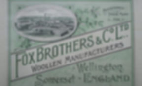WELLINGTON Fox Bros. & Co. factory Swimming History