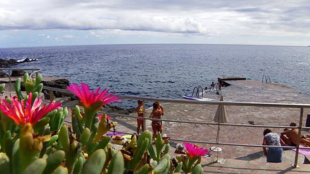 Wild Swimming Tenerife El Tablado