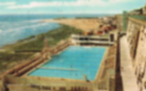 The Marina Bathing Pool, Ramsgate Swimming History