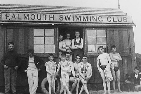 Falmouth Swimming Club, historic wild swimming venue