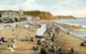 Teignmouth Bathing Beach and Bathing Machines Swimming History