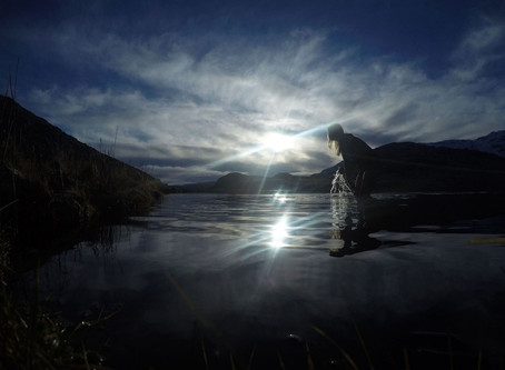 Afterglow: A Beautiful Video of Wild Swimming in Icy Mountain Lakes of Snowdonia
