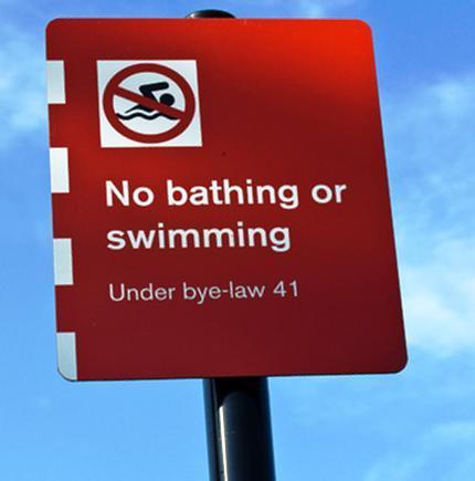 No Swimming at Sparth