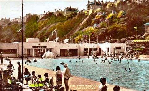 Folkstone Lido Kent Swimming History