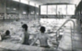The old Hendra swimming pool in Truro