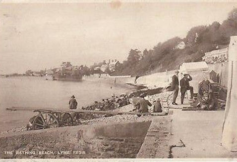 Lyme Regis Bathing Place Swimming History