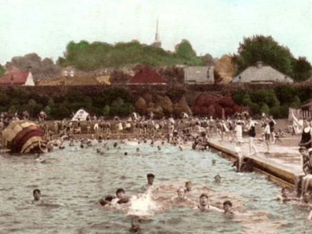 Swimming History – Harrow open air pool