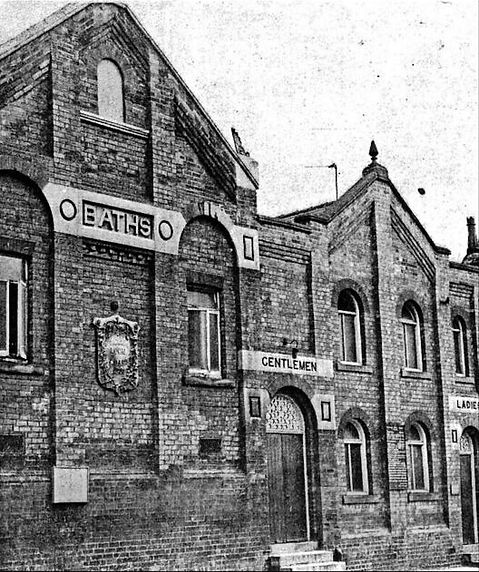 Lea Rd Baths Gainsborough Swimming History