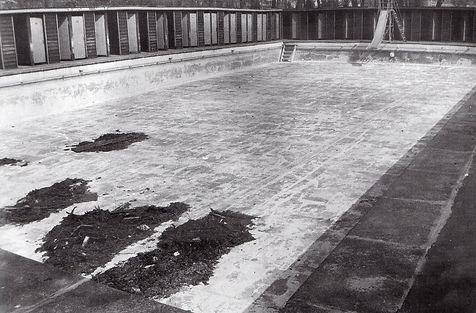 Open-air (public) Moor Park. Lido. Preston 1971