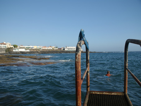 Wild Swimming in La Caleta Tenerife