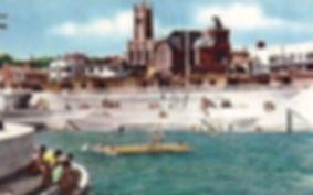 Penzance Lido with Pontoon Wild Swimming History Cornwall