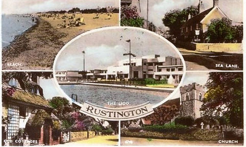 Rustington Lido Swimming History