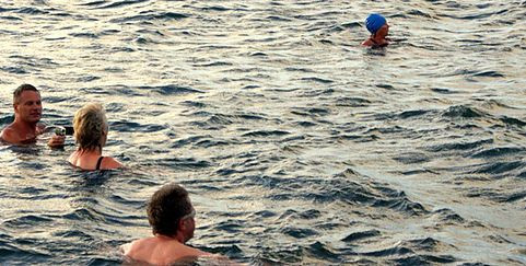Sea Swimming Penzance Cornwall