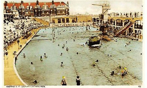 Hastings Lido Swimming History