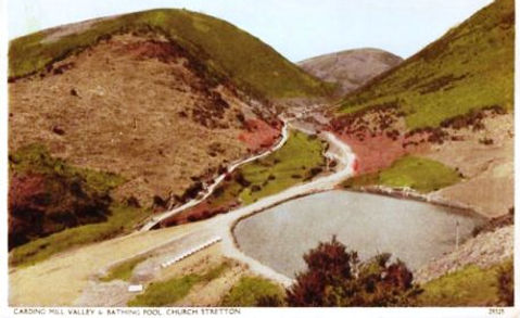 Carding Mill Valley Bathing Pool Church Stretton Swiming History