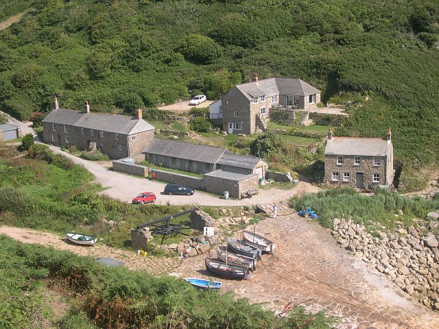 Penberth Cove Cornwall