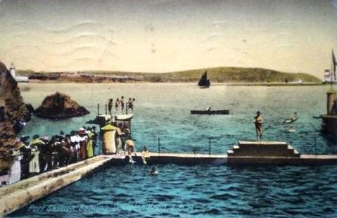 Isle of Man Douglas Port Skillinon Lido