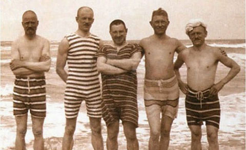 Sea Bathers Alnwick Swimming History