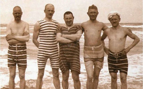 Sea Bathers Ulverstone Swiming History