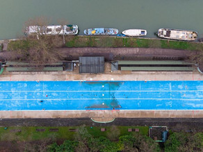 Why is Jesus Green Lido the longest outdoor pool in the UK?