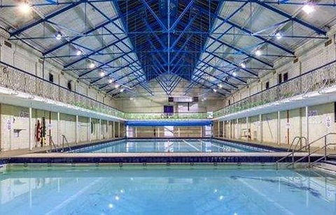 Swimming History London Hackney Public Swimming Baths (2), Lower Clapton Road. One for ladies only.