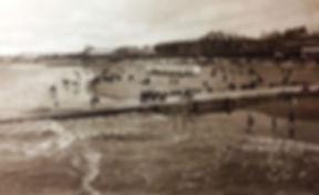 BURNHAM bathing place Swimming History