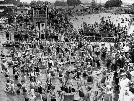 Swimming History Picture of the Week: The Blue Lagoon Bristol