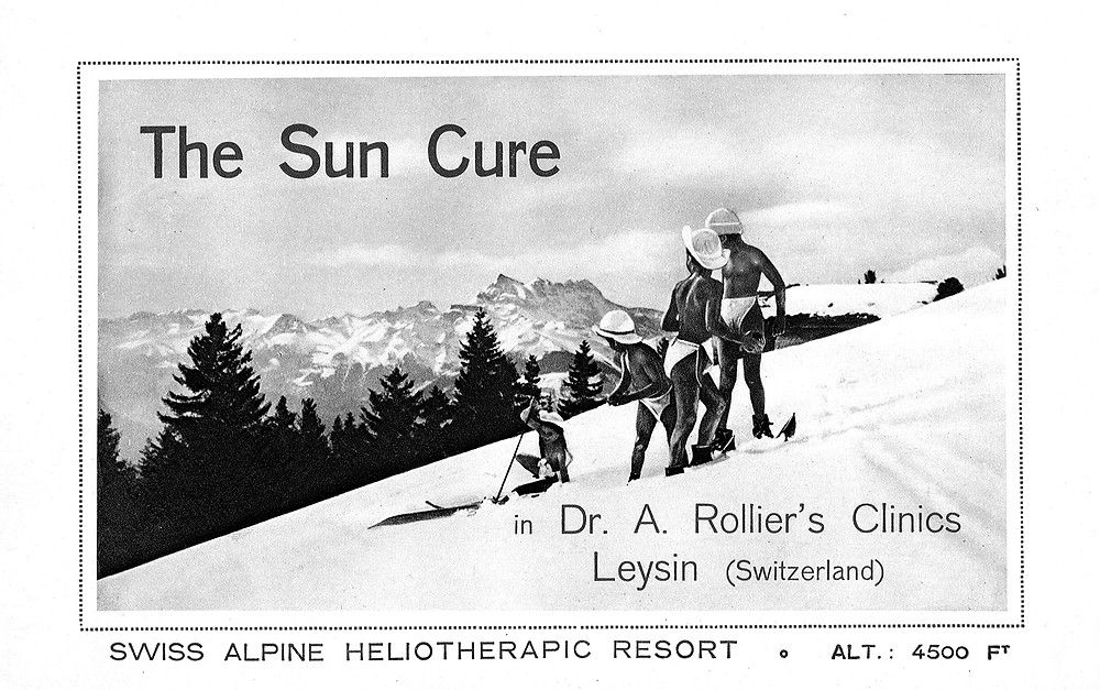 The sun Cure Rollier's Heliotherapy