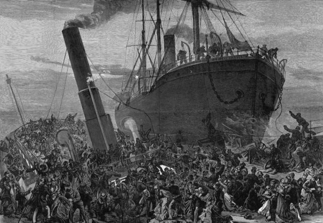 Princess Alice collision in the Thames