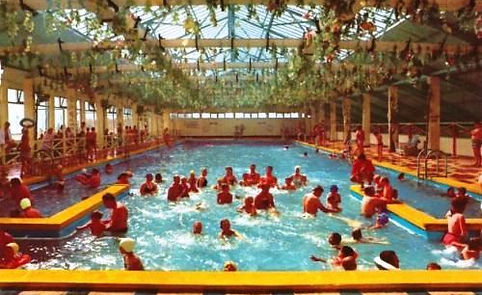 Butlin's Skegness indoor Swimming pool