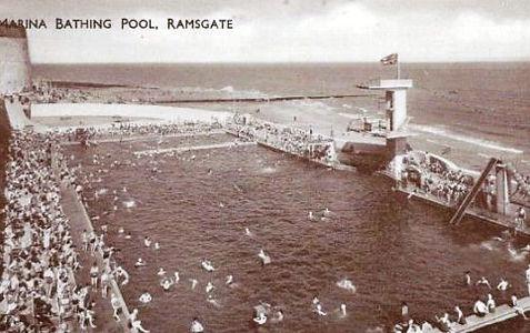 NORTHFLEEMarina Bathing Pool Ramsgate Kent Swimming History