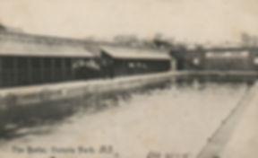 Bristol The Baths, Victoria Park, 1905 Swimming History