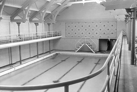Hanley Swimming Baths Lichfield Street Swimming History