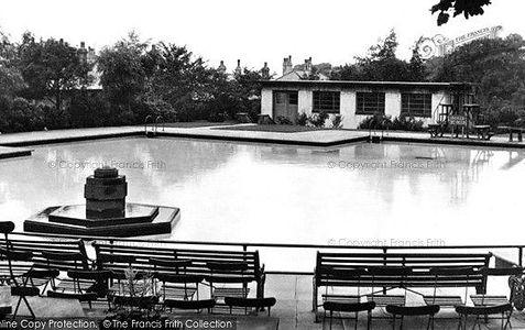 Swimming Baths BRIERFIELD lancashire history