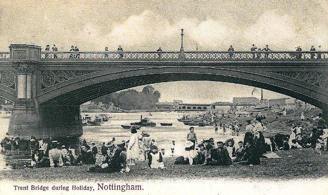 River Swimming Trent Bridge Nottingham