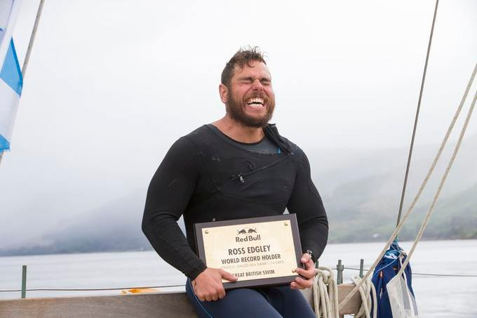 Ross Edgley's First Swimmer to Circumnavigate Great Britain