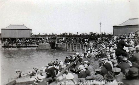 Swimming Basin Mabelthorpe History