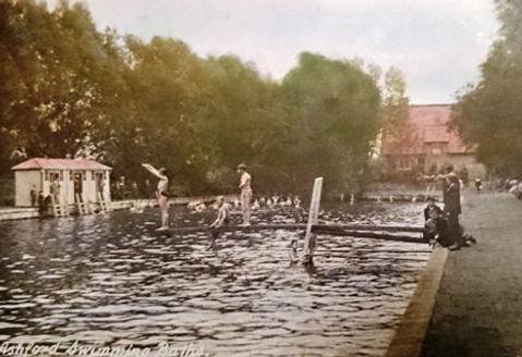 ASHFORD. Public Swimming Bath, Beaver Road. History